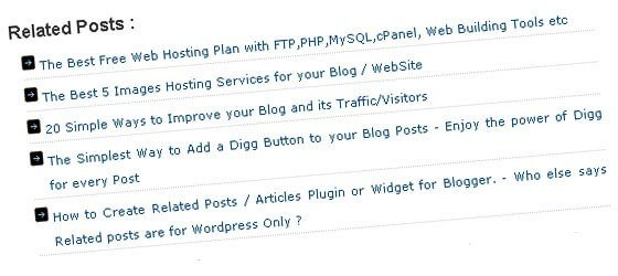How to display related Post in Wordpress without Plugin