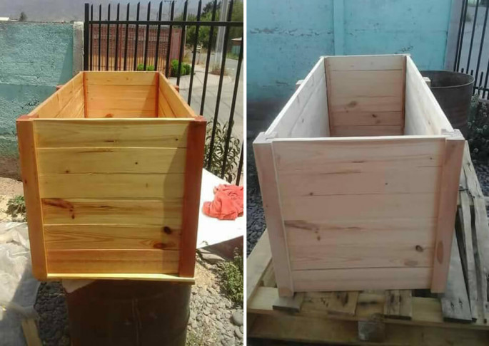 Wood Ice Chest or Trunk pallet Ideas