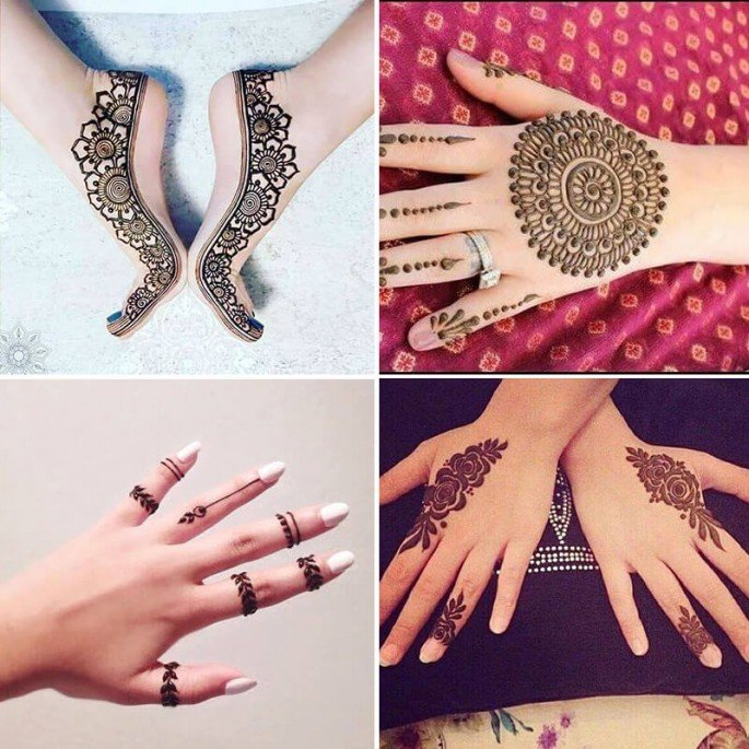 Elegant Henna Designs: Top 101 Beautiful & Elegant Mehndi Designs For Weddings
