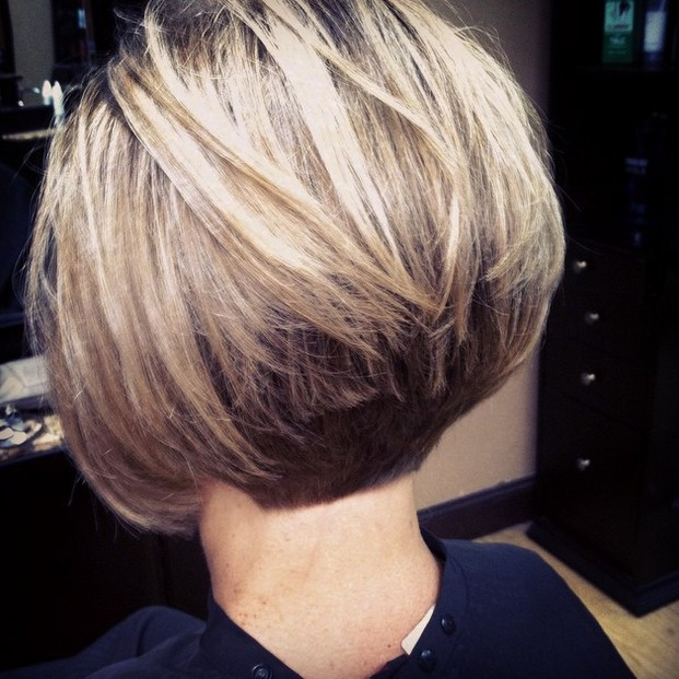 Stacked Short Bob Hairstyles & Haircuts for Women