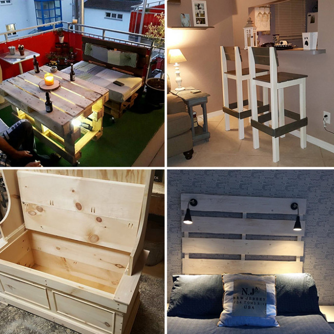 30 Top and Easy to Make Pallet Wood Projects for Home ...