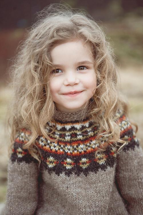 Mischievous Curls Hairstyles for Little Girls