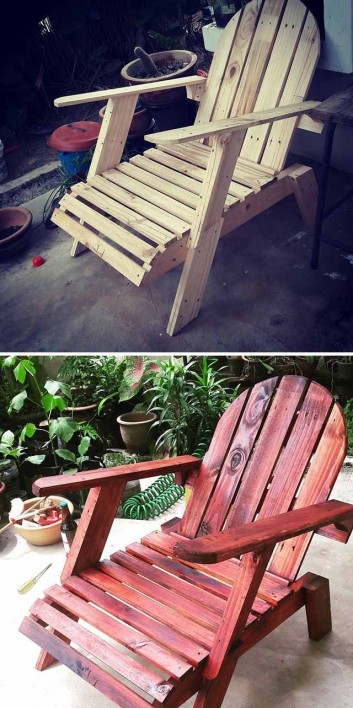 Beautiful Home Decoration Ideas Made From Pallet Woods