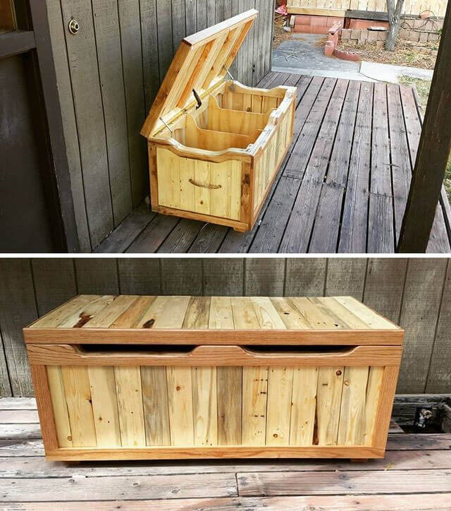 outdoor pallet decor ideas