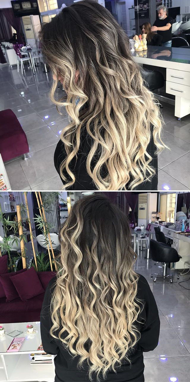 Long Braided women hairstyles