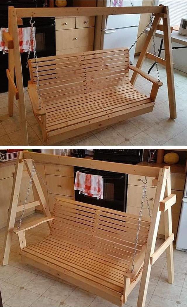 30 Unique and Affordable DIY Pallet Furniture Ideas