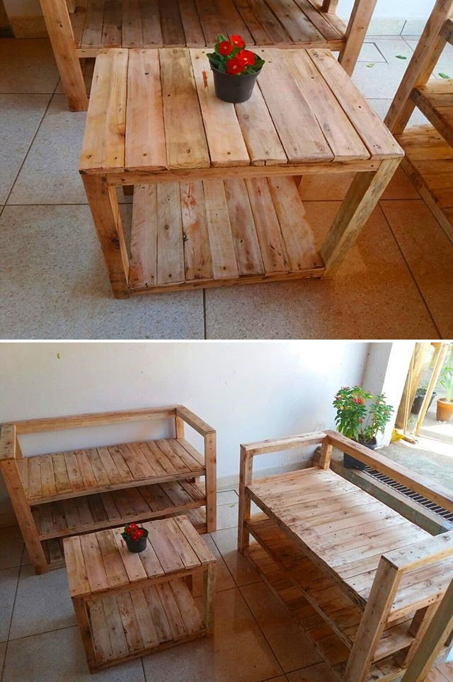 30 Inspiring pallet projects ideas for your home