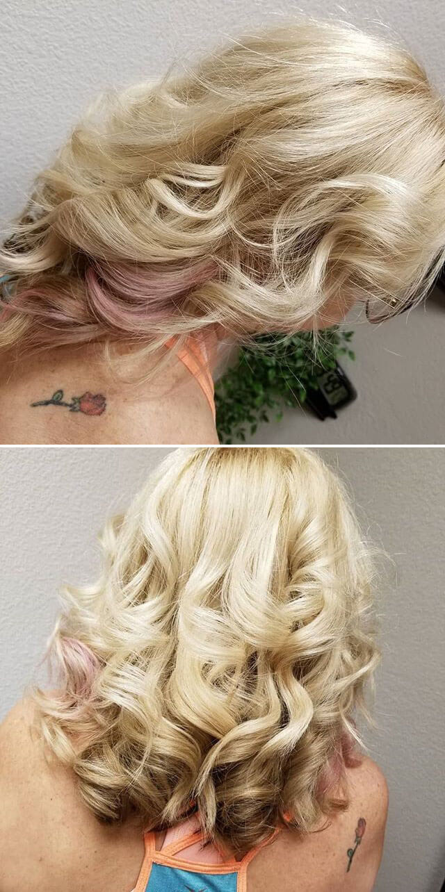 Side pose braided hairstyles