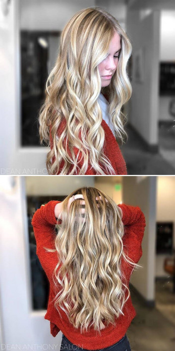 Blonde Women hairstyles