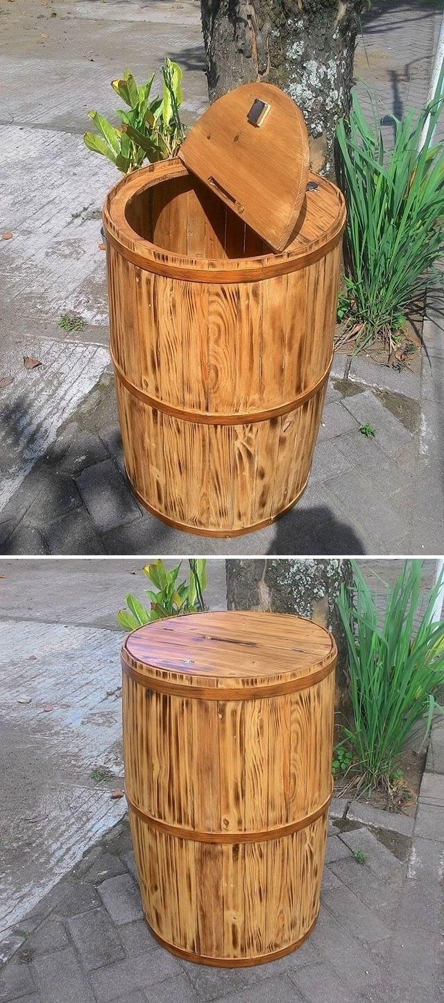 wood pallet drum ideas