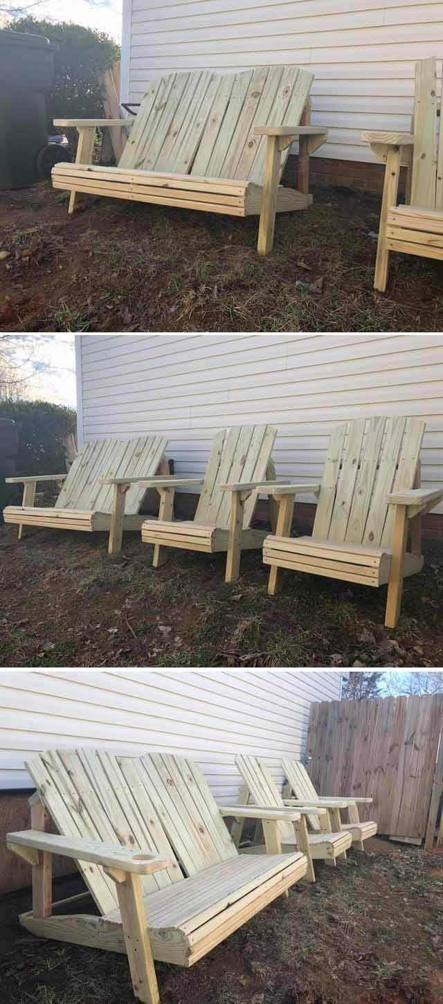 42 Best Pallet Furniture Projects images in 2019