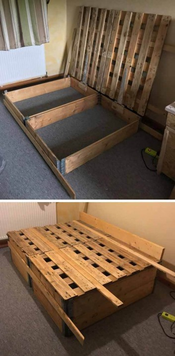 Profitable Wooden Pallet Projects Ideas