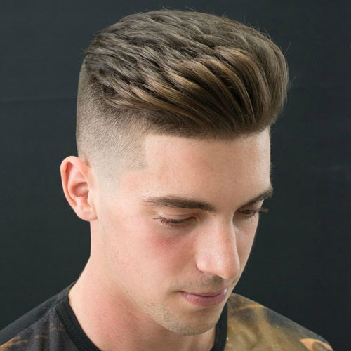 Brushed Back Hairstyles Men: 45+ Best Short Hairstyles For Men