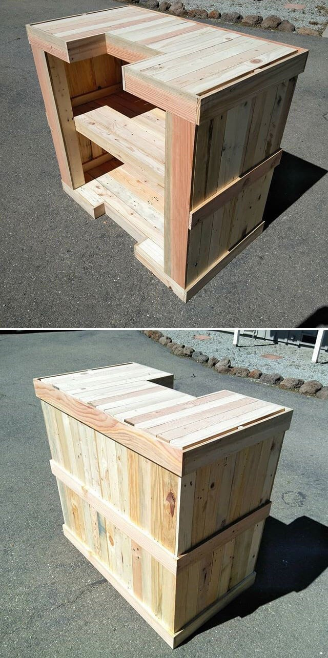 pallet table bar ideas