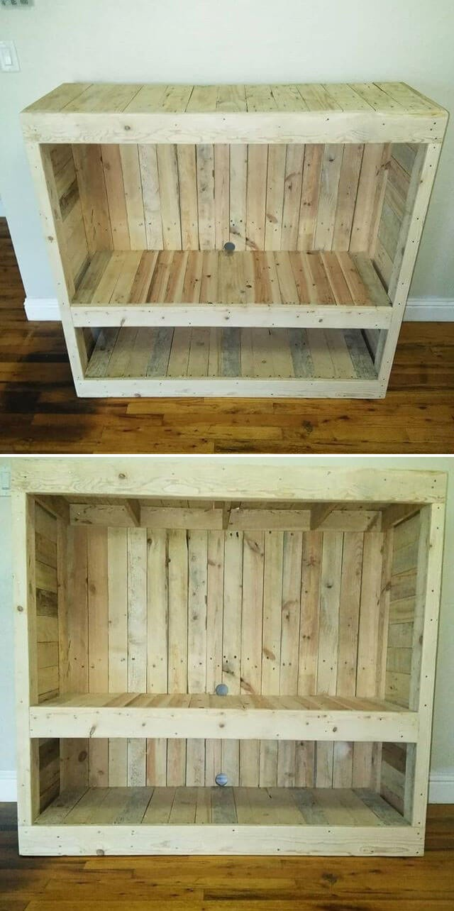 pallet side table ideas