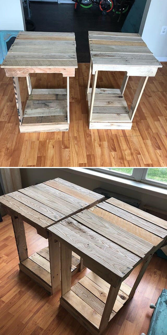 pallet small table ideas
