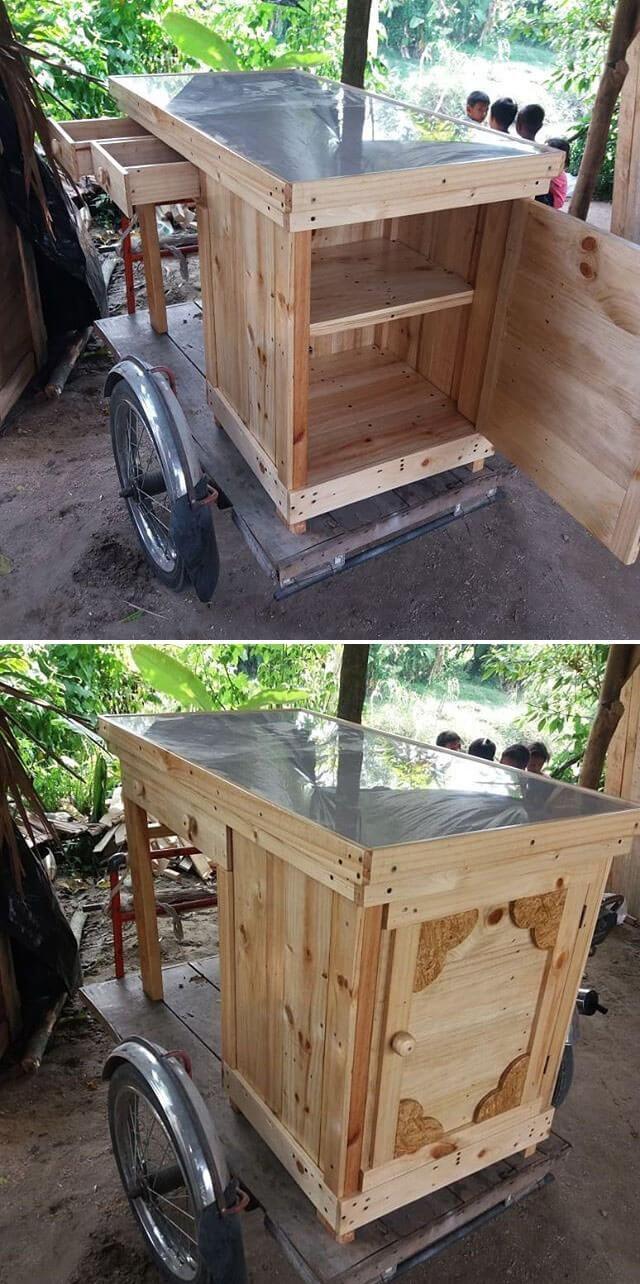 outdoor wooden pallet garden projects