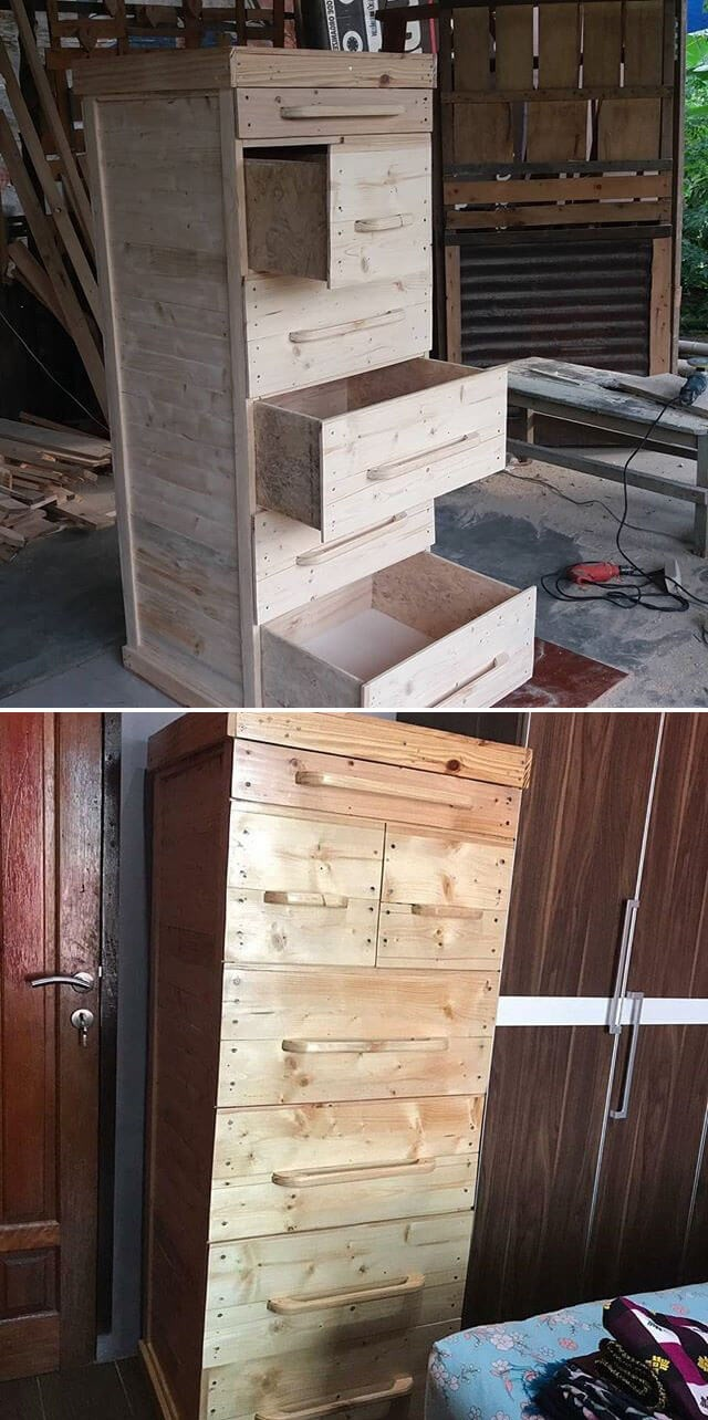 pallet drawer ideas on sensod