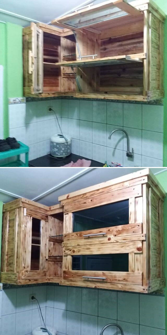 pallet kitchen project ideas