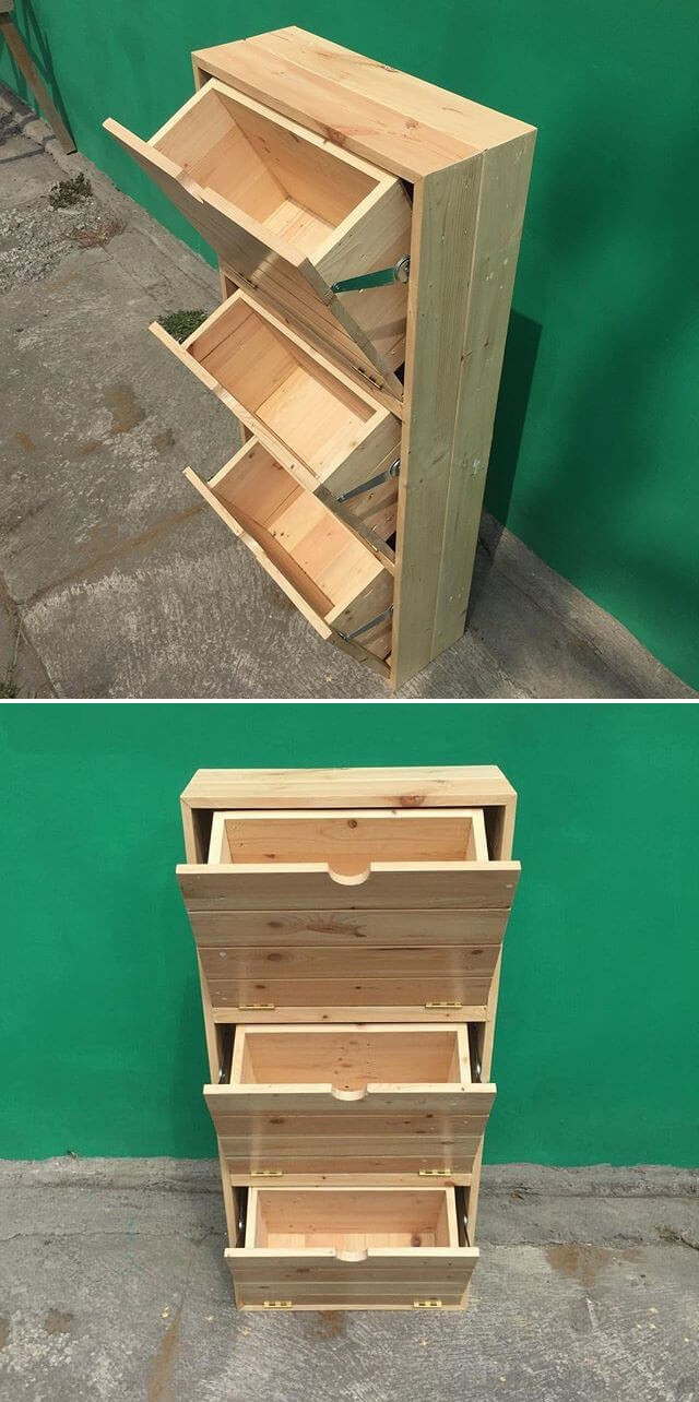 pallet garden planter box ideas