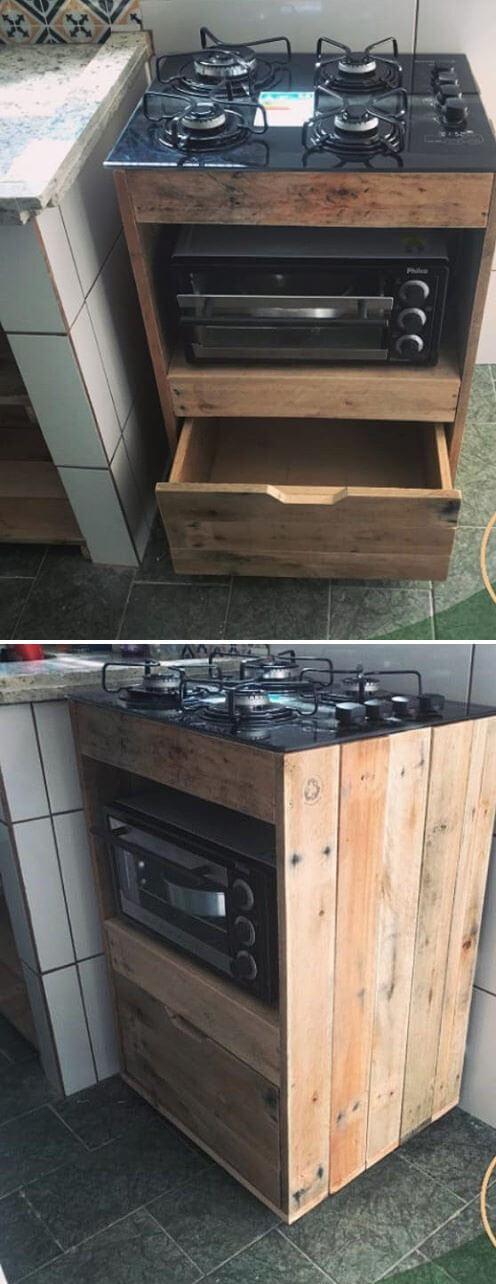 pallet kitchen project ideas