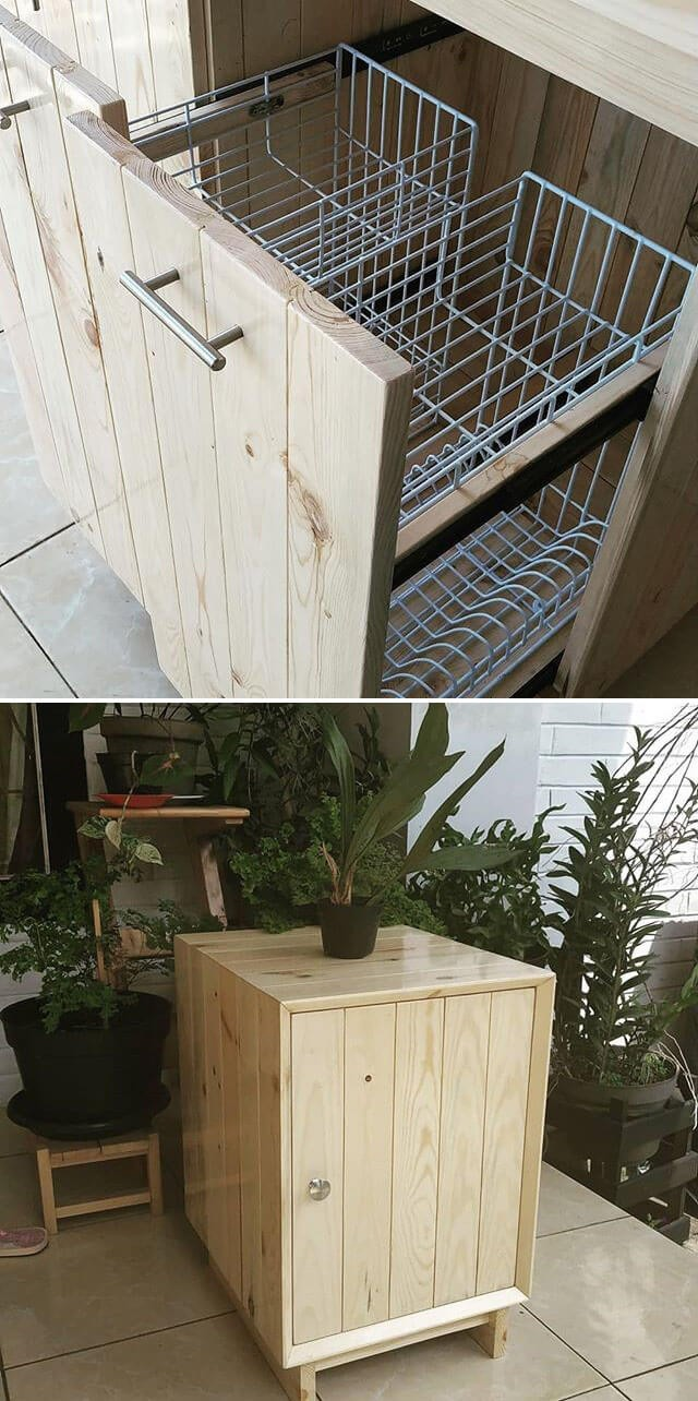 pallet bakset project ideas