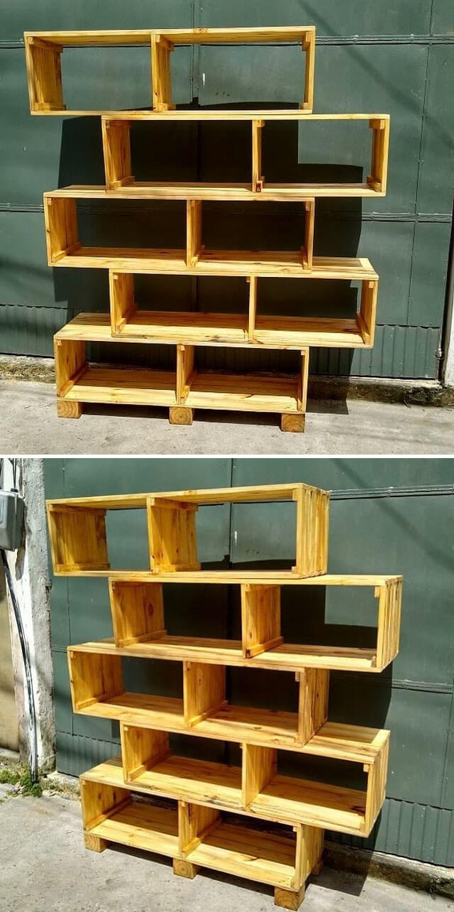 Unbelievable Amazing Pallet storage shelf