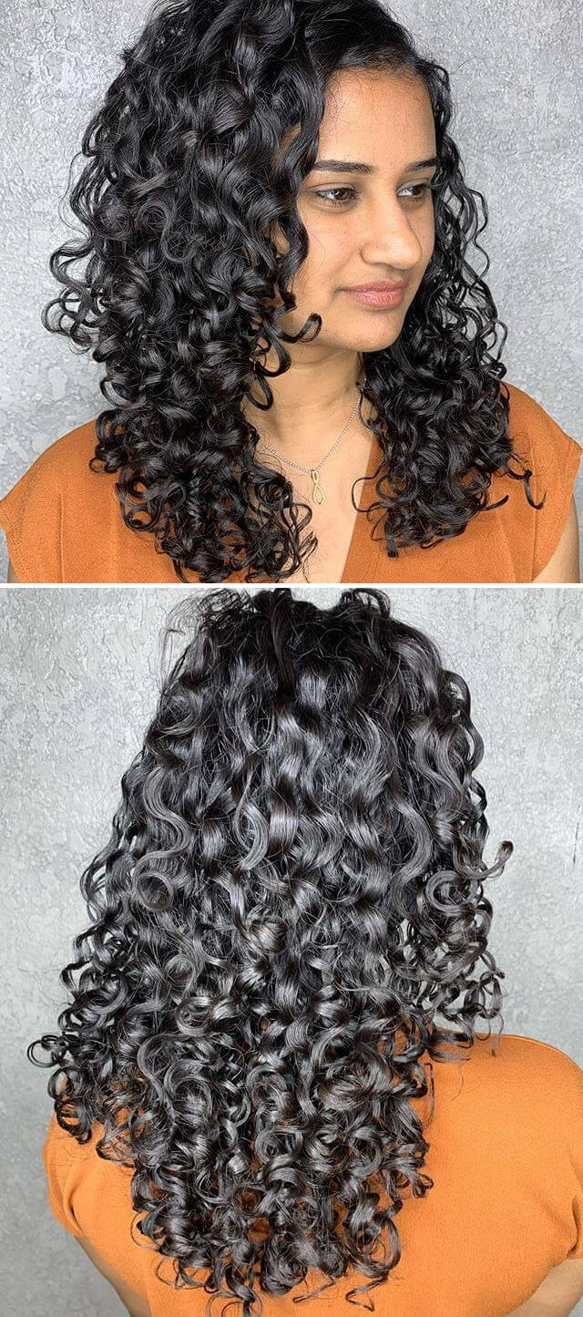 Latest Long Curly hairstyles
