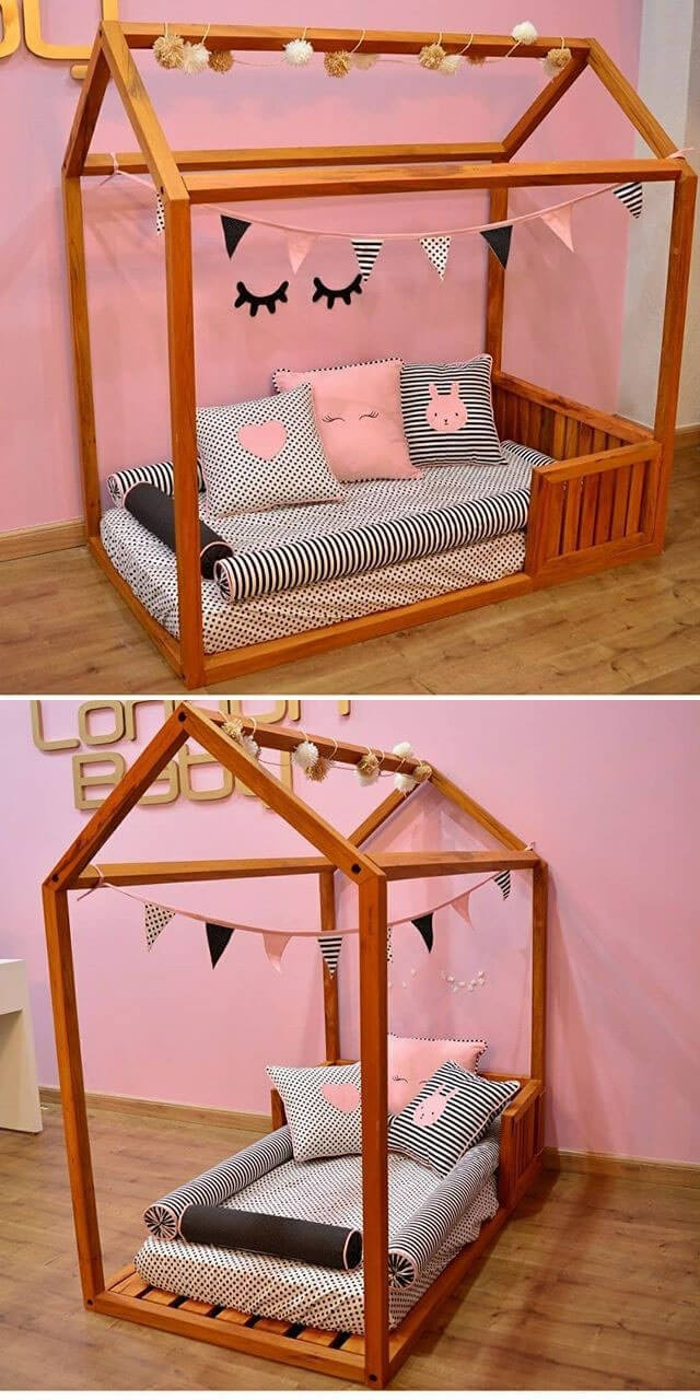 best pallet kids bed ideas