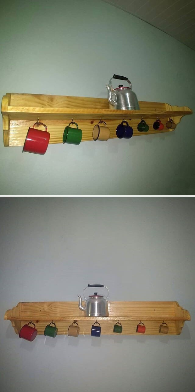 Unbelievable Amazing Pallet wall shelf