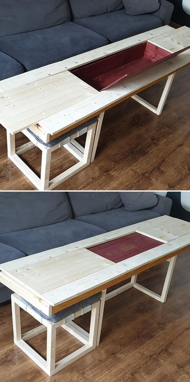 Unbelievable Amazing Pallet working table