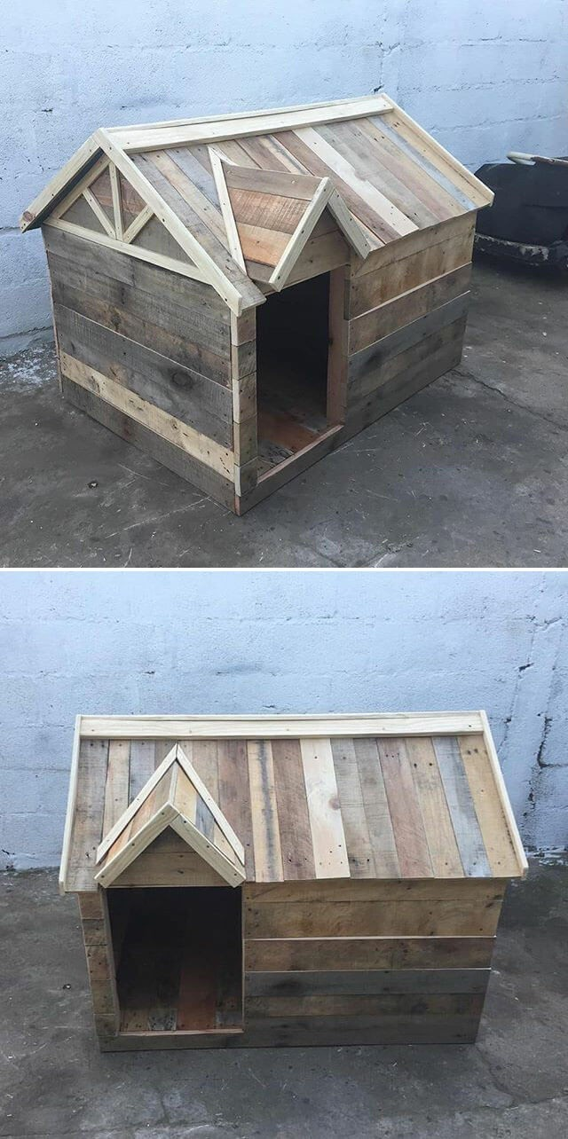 One level up pallet house ideas