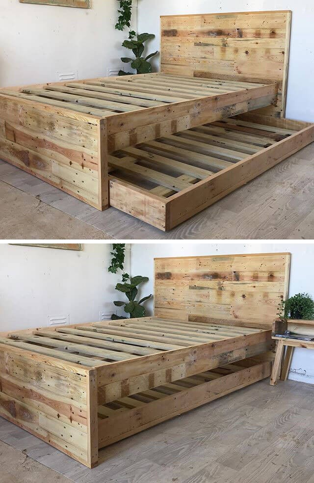 outclass pallet bed frame ideas