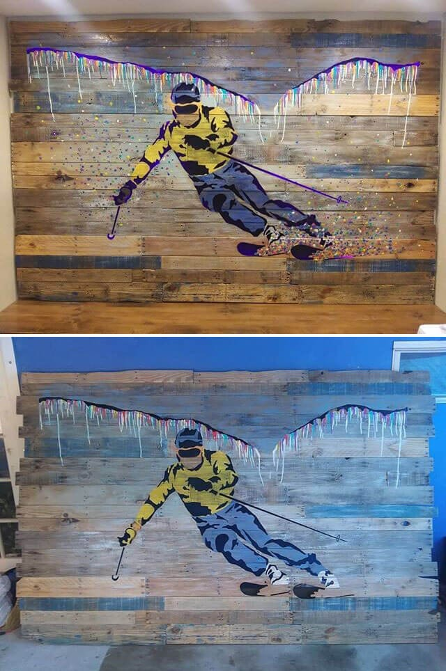 best pallet wall art ideas