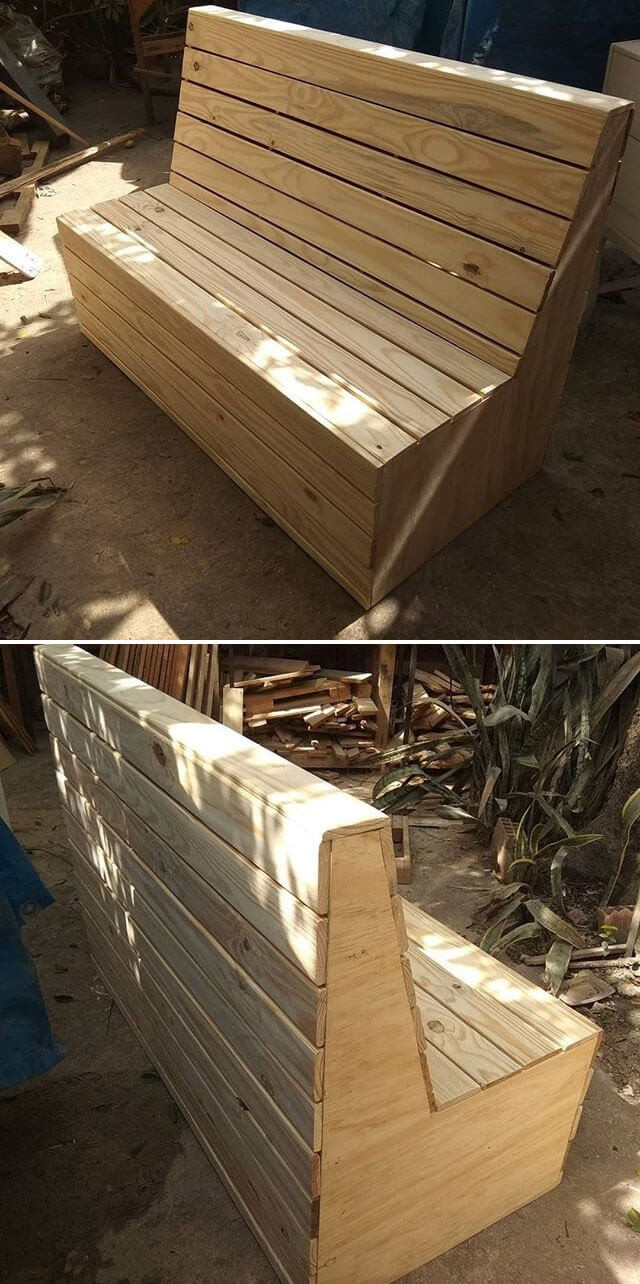 mind blowing pallet benches ideas