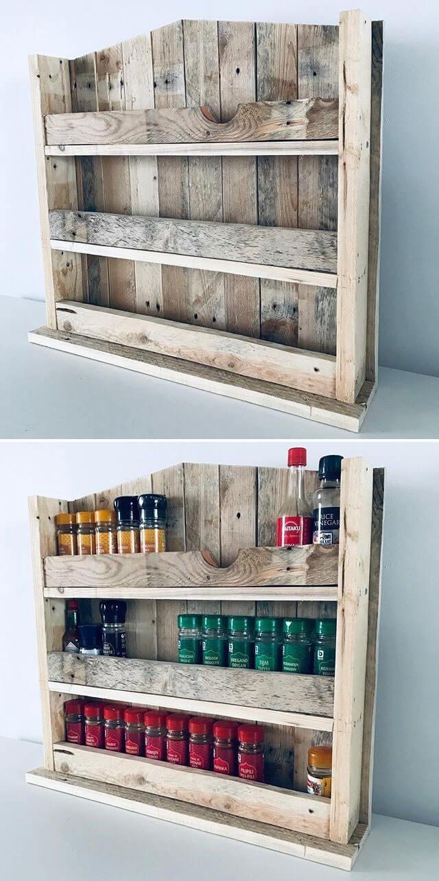 pallet wall shelf ideas