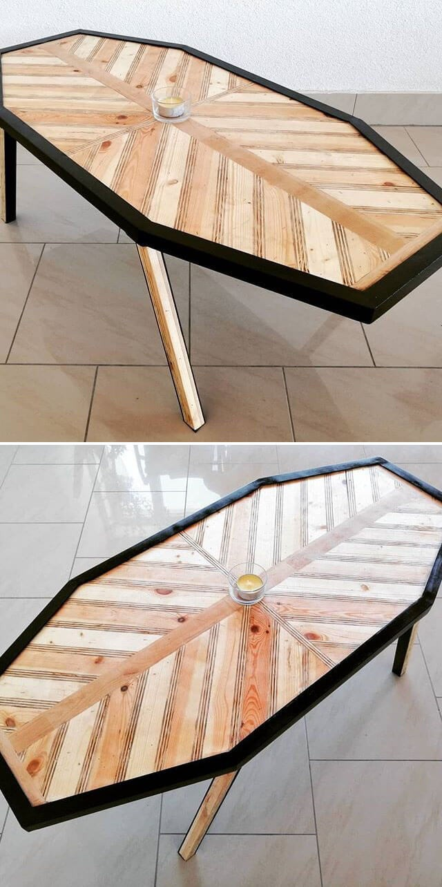 stylish pallet table project