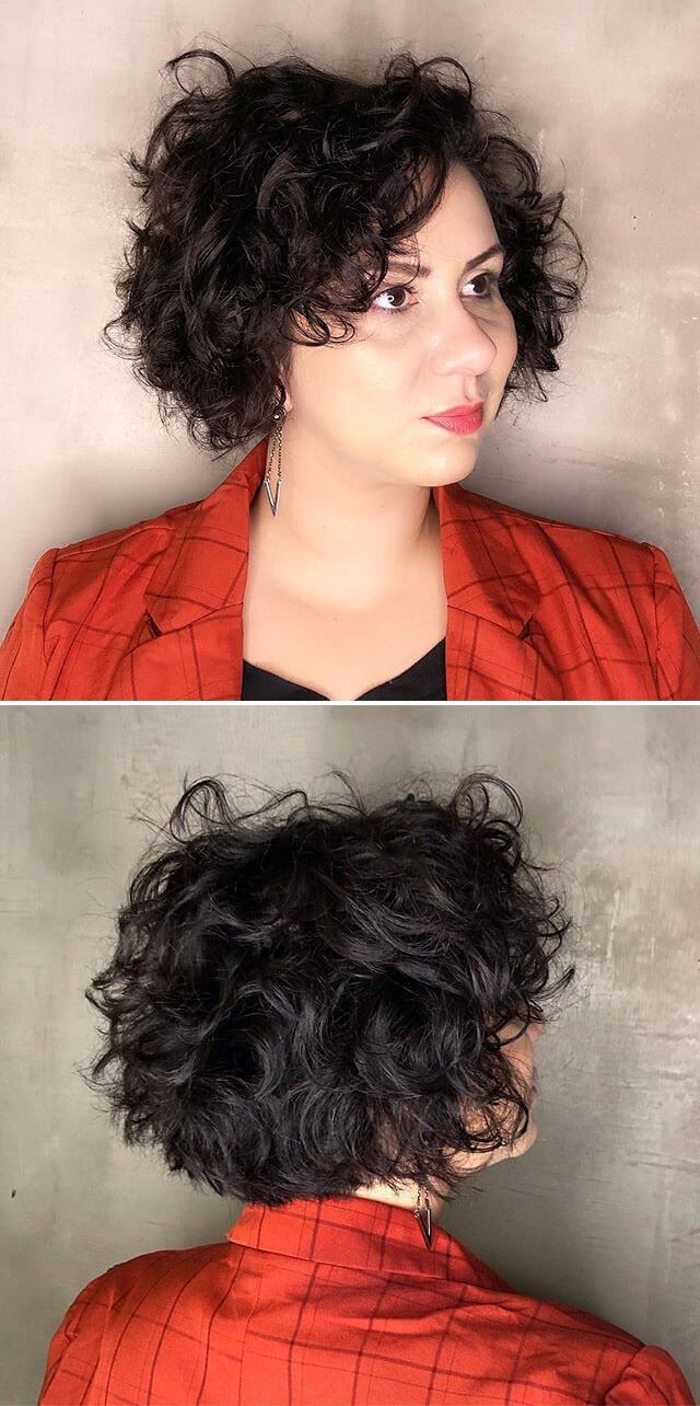 Cute Curly Hairstyles for Parties
