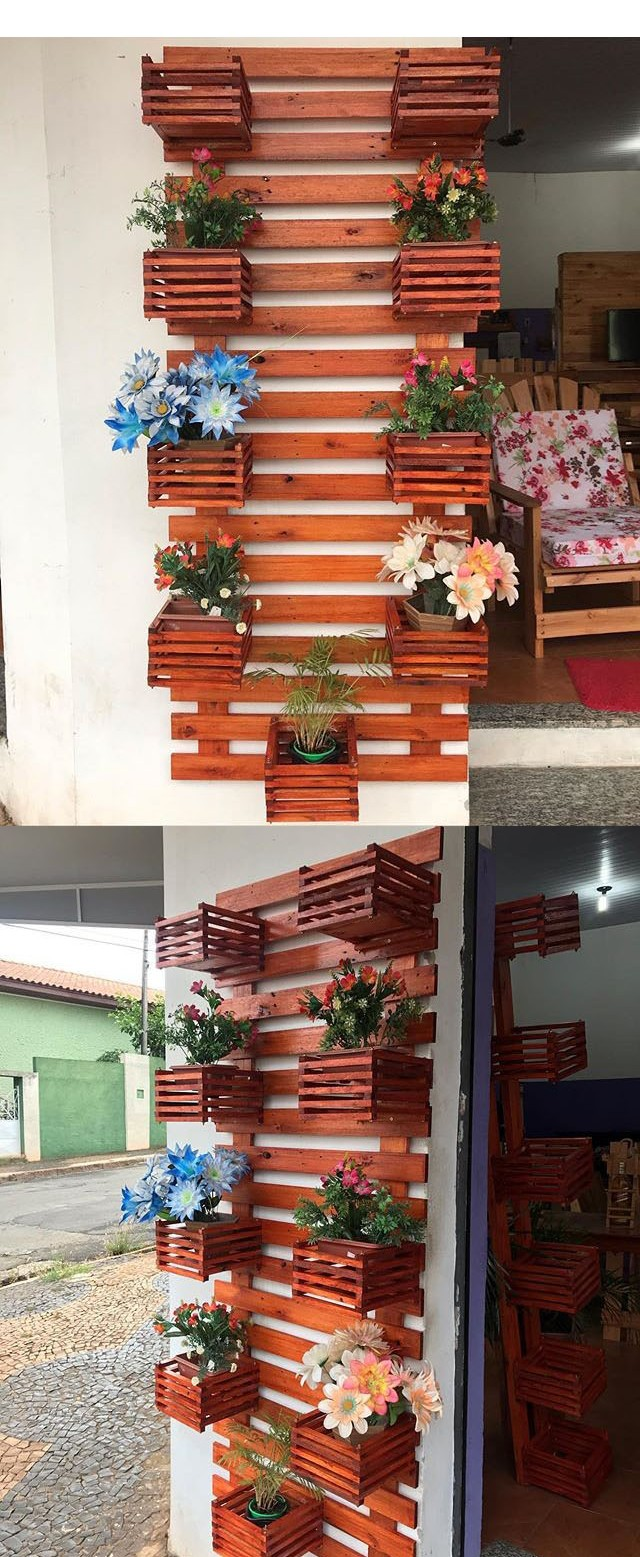 Pallet vertical planer ideas