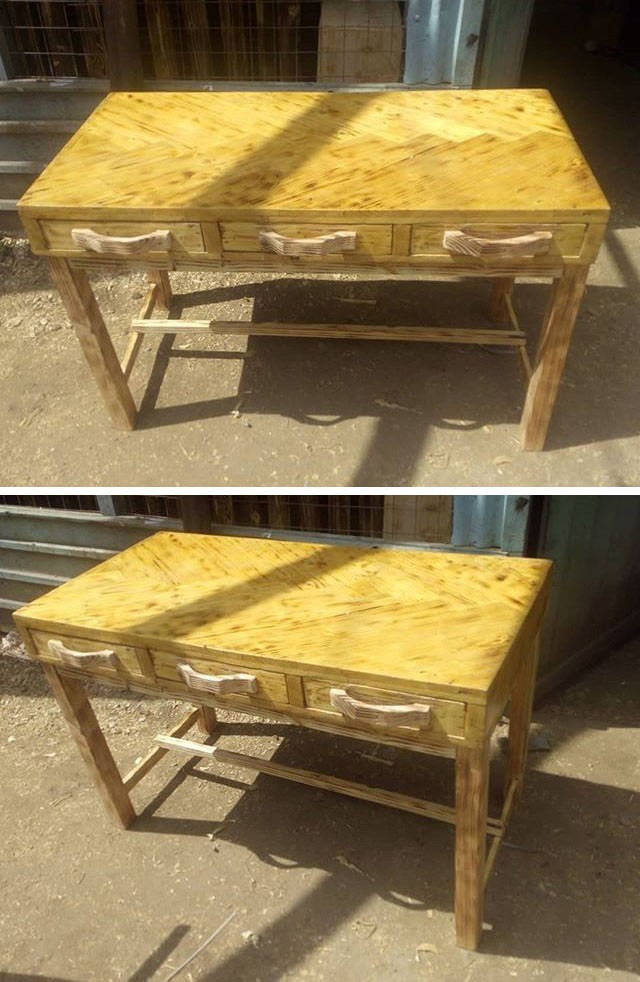 Pallet table furniture projects