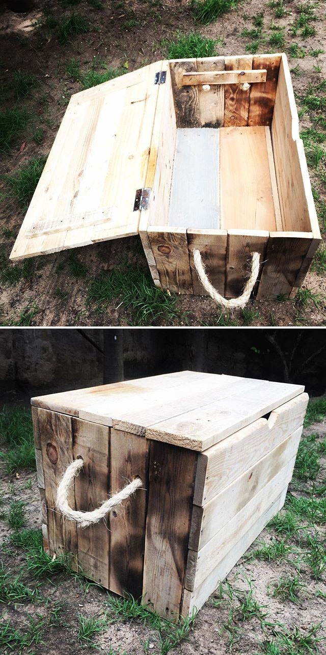 Pallet storage box projects