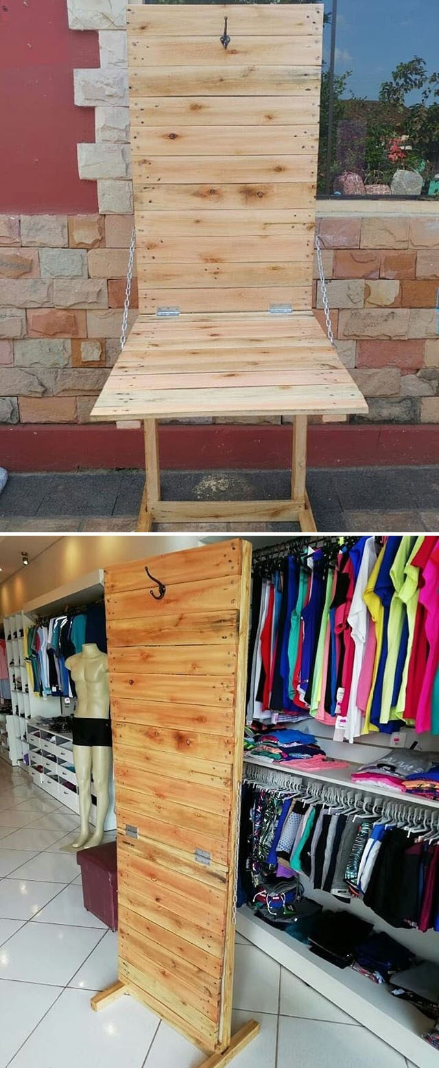 easy pallet foldable table