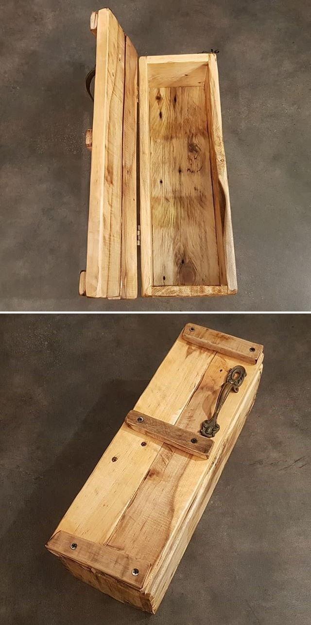 easy pallet storage box
