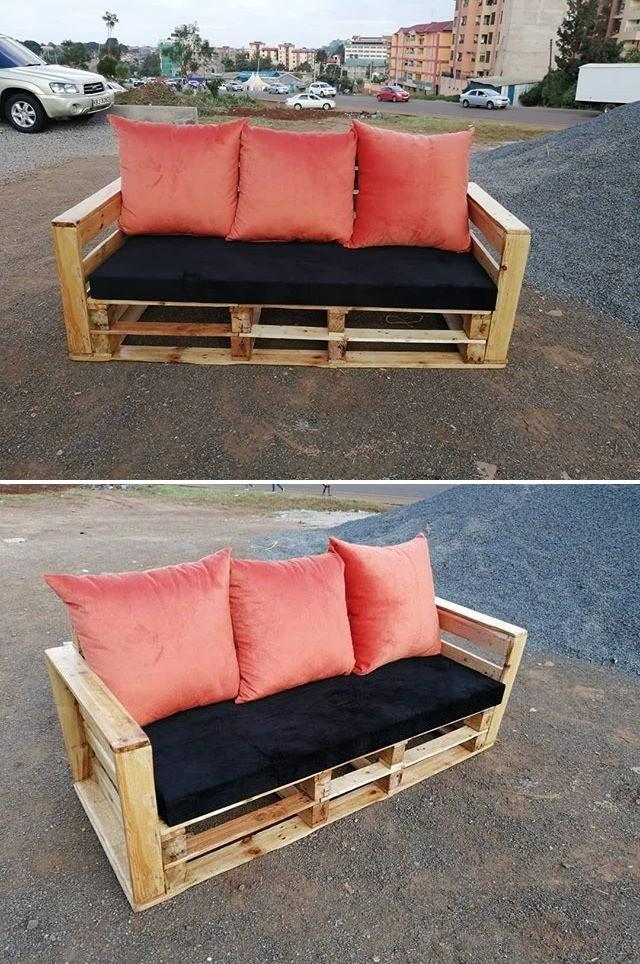 pallet sofa set ideas