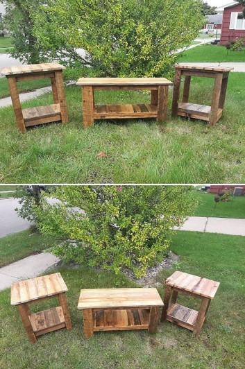 pallet garden funiture project ideas