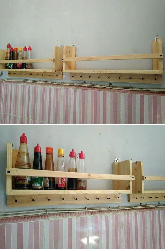 easy pallet wall shelf ideas