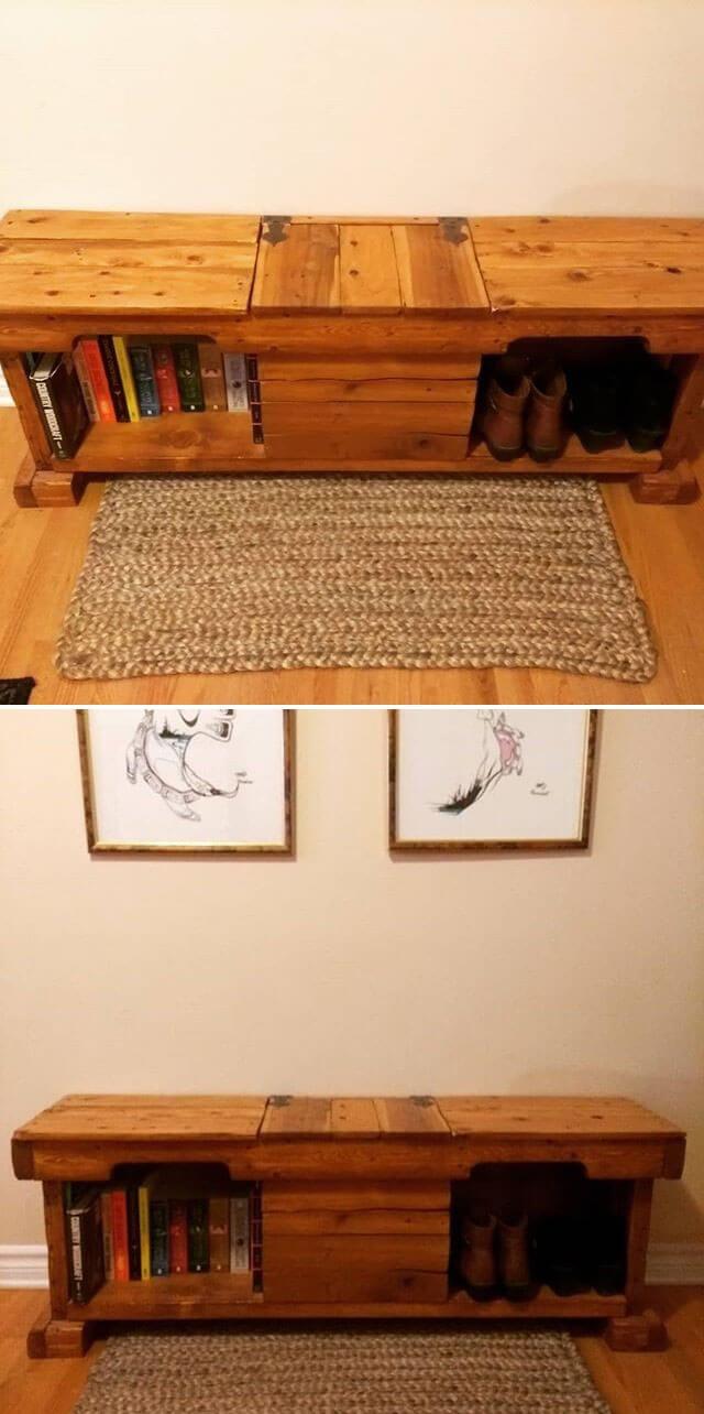 bookshelf ideas made from pallet