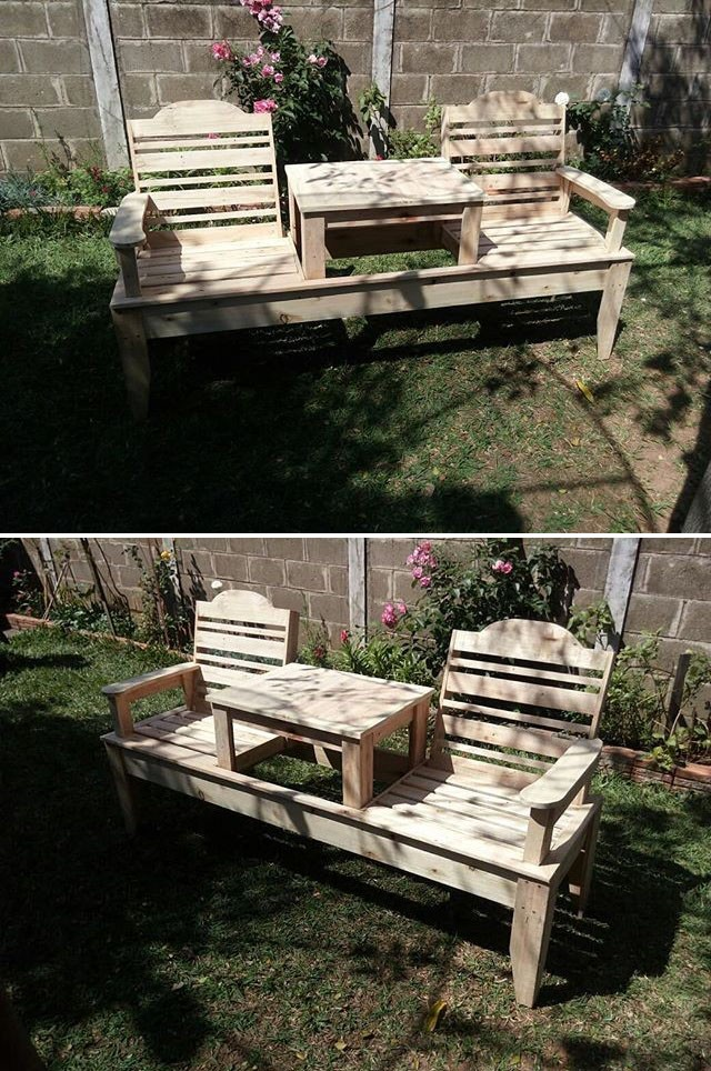 Sublime and Impressive Pallet Home Garden Ideas