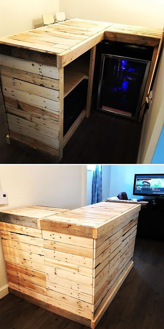 Astonishing Indoor and outdoor Pallet Furniture Projects