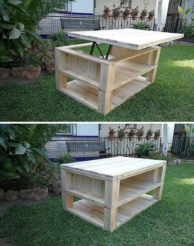 25 Astonishing Indoor and Outdoor Pallet Furniture Projects
